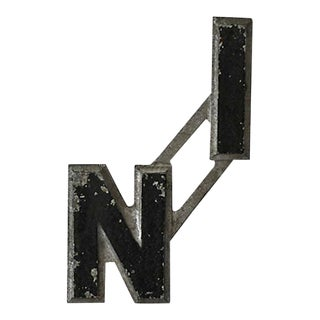 """Vintage Metal Drive-In """"In"""" Letters For Sale"""