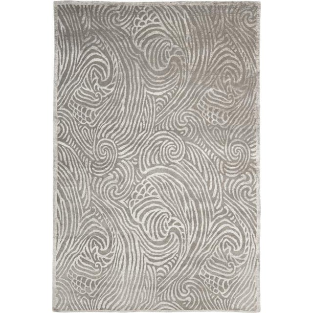Ralph Lauren Art Nouveau Rug For Sale In New York - Image 6 of 6