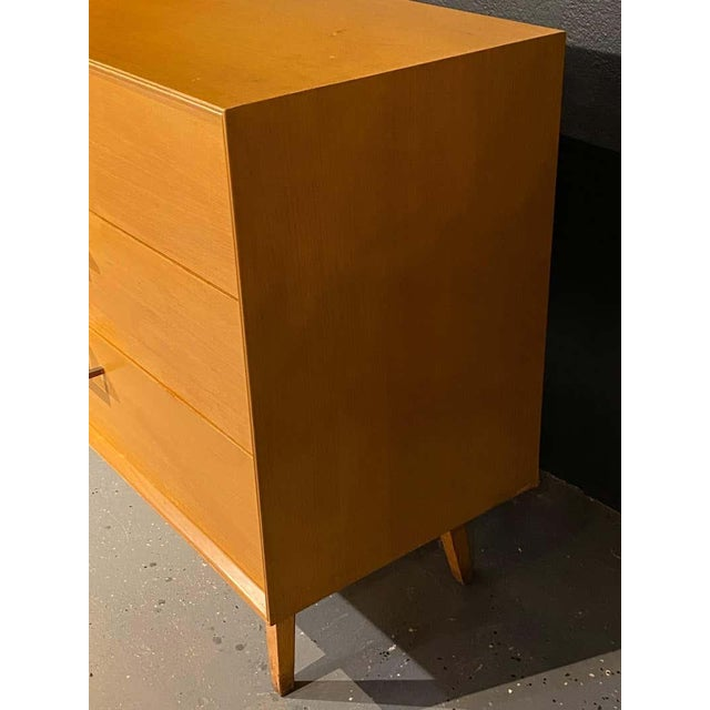 Pair of Mid-Century Modern Bachelor Chest, Commodes or Dressers For Sale - Image 10 of 13