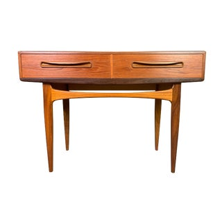 "Vintage British Mid Century Modern Teak ""Fresco"" Console by G Plan For Sale"