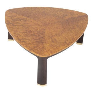 Carpathian Elm Coffee Table Designed by Edward Wormley for Dunbar For Sale