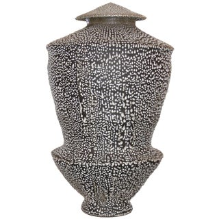 Large Ceramic Vessel by Skeff Thomas For Sale