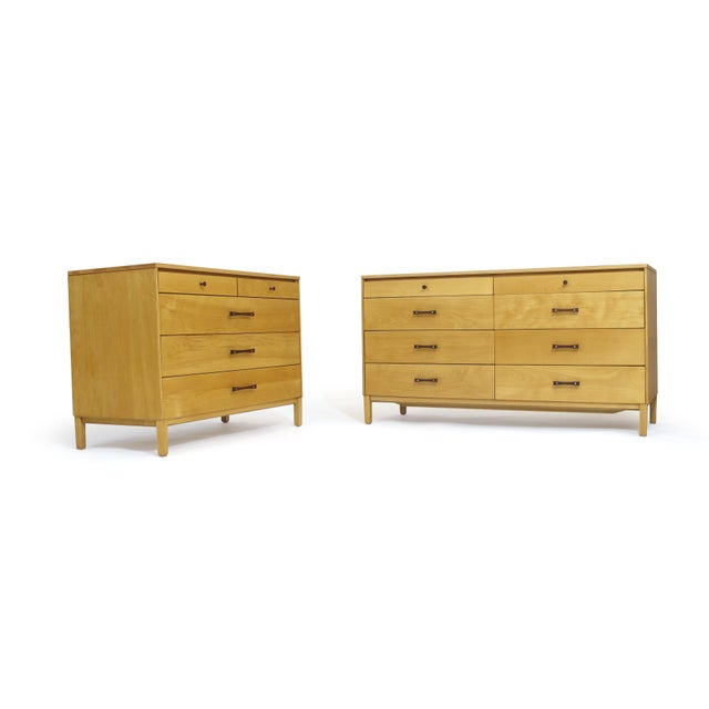 Perimeter Group by Paul McCobb Mid-Century Dressers - a Pair For Sale - Image 9 of 9