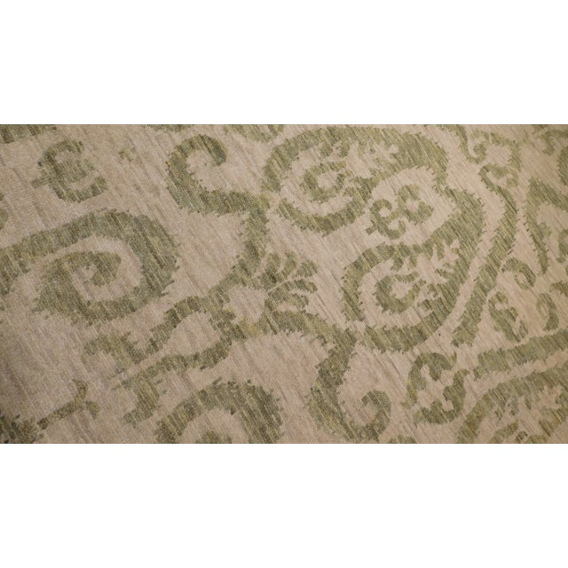 Transitional Hand-Knotted Luxury Rug - 9' x 12' - Image 3 of 3