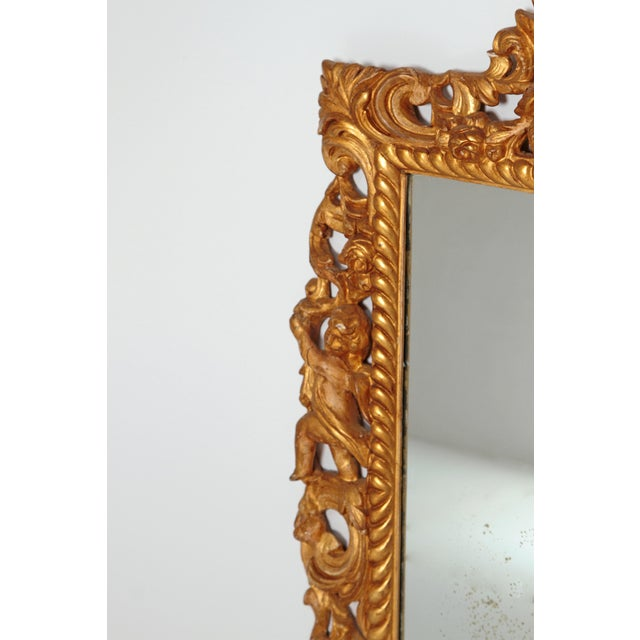High-End Late 17th Century English Charles II Gilt Wood Frame With ...