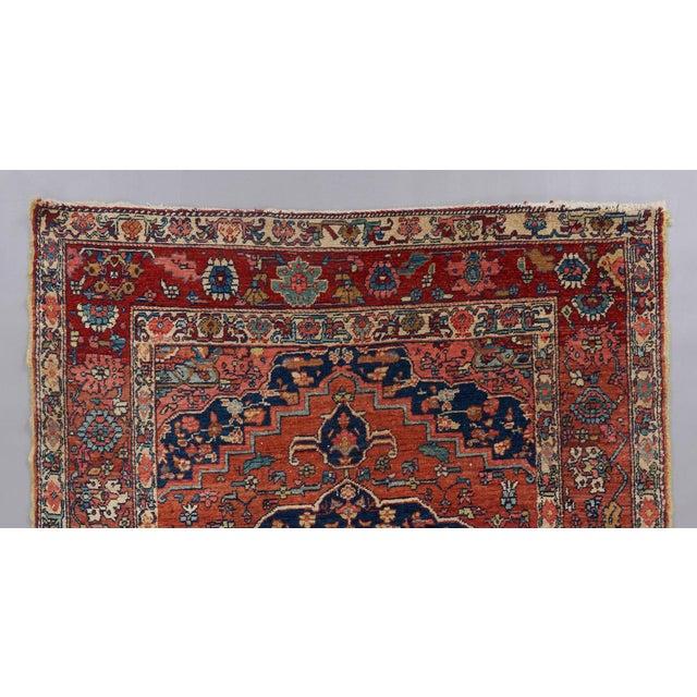 Heriz Wool Rug - 4′5″ × 6′ For Sale - Image 4 of 6