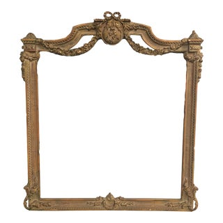 5' Foot Baroque Style Picture Fine Art Picture Frame For Sale
