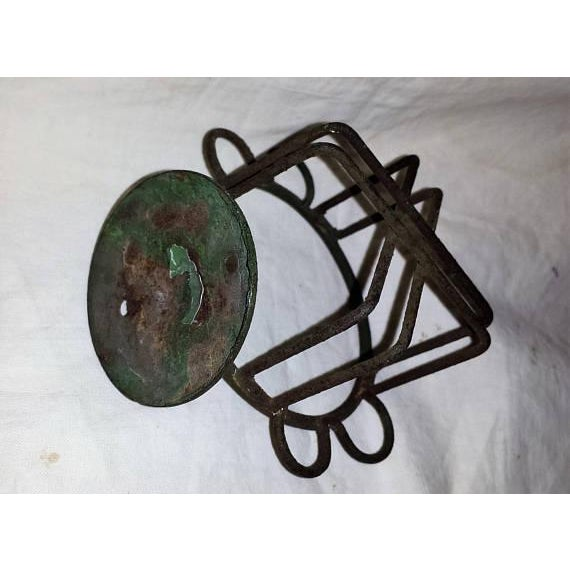 Antique Metal Wire Cup Holder - Image 4 of 5