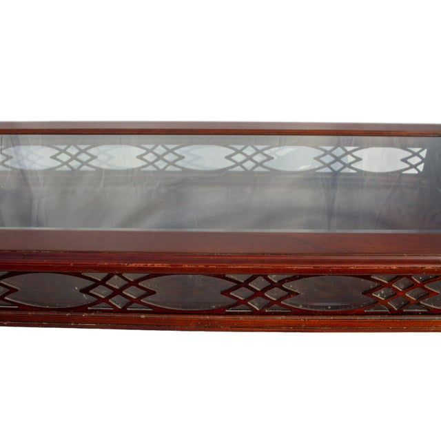 Kindel Glass Display/Shadowbox Coffee Table For Sale - Image 9 of 11