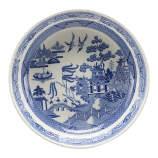 Spode Copeland Blue Willow Serving Dish For Sale