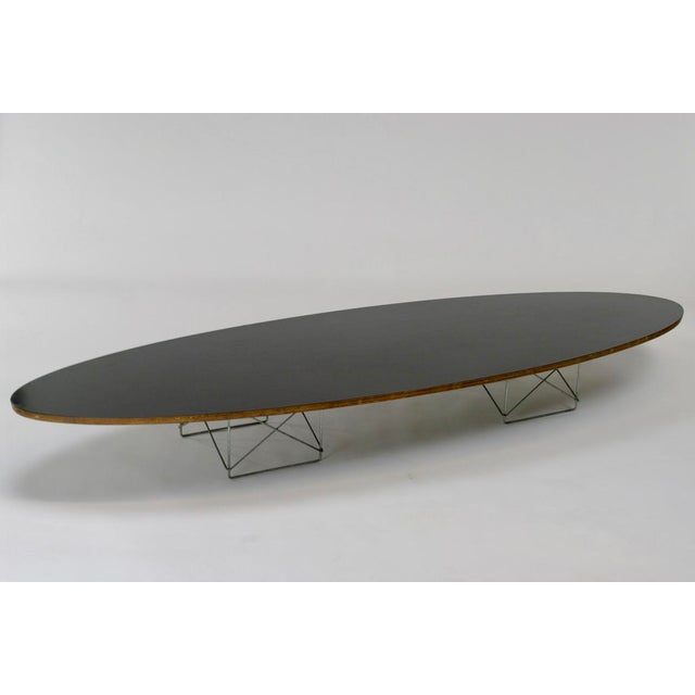 "Eames Elliptical ""Surfboard"" ETR Coffee Table - Image 2 of 11"