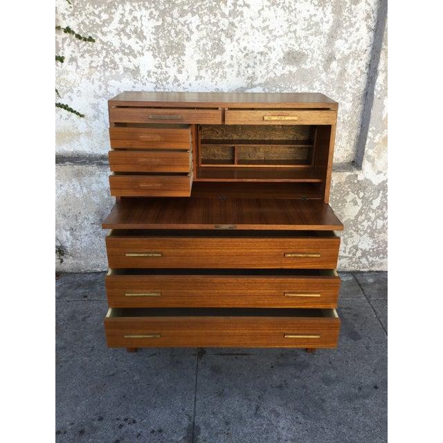 """""""Falsigs"""" Made in Denmark Vintage Teak Desk - Image 5 of 7"""