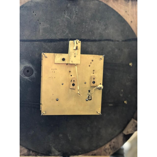 French Renaissance Architectural Carved Clock For Sale In Atlanta - Image 6 of 10