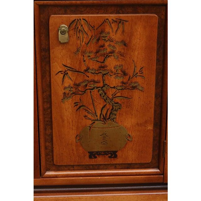 Ming Style China Cabinet By Bassett Furniture