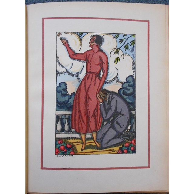 "Vintage Ltd. Ed. Pochoir Images By Guy Arnoux""Les Femmes De Ce Temps"" France 1920 - Image 2 of 8"