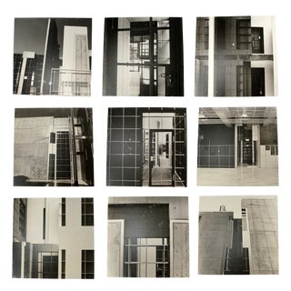 1990s Black & White Architectural Photographs - Set of 9 For Sale