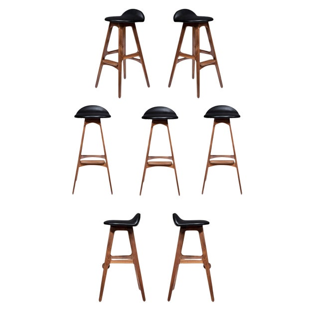 Terrific Set Of 7 Boyd Stools Ncnpc Chair Design For Home Ncnpcorg