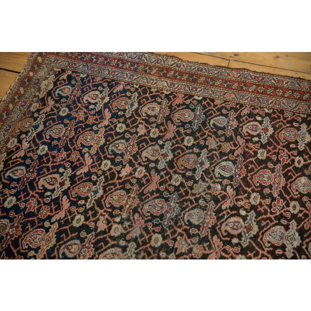 "Blue Antique Fine Malayer Rug - 4'1"" X 6'4"" For Sale - Image 8 of 13"