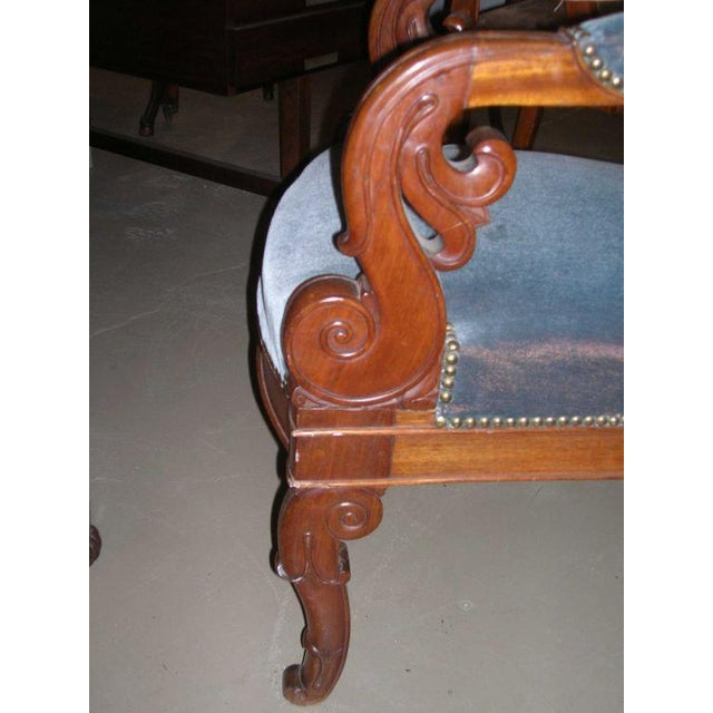 Mid 19th Century Restauration Period Armchair For Sale - Image 5 of 11