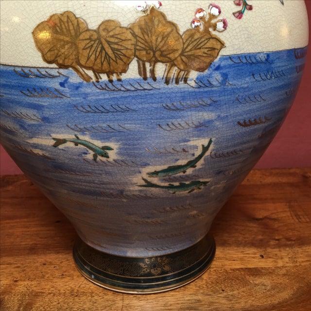 Hand Painted Japanese Imari Vase - Image 6 of 11