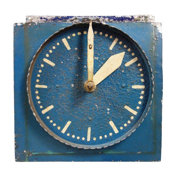 White Double-Sided Clock Teaching Aid For Sale - Image 8 of 9