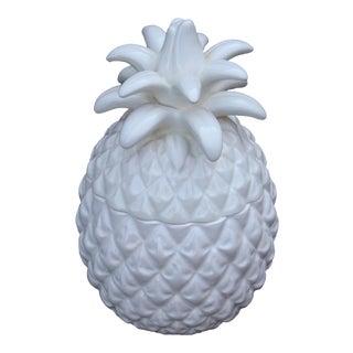 Japanese Made Ceramic Pineapple Jar