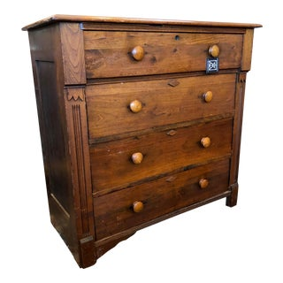 Rustic Primitive Chest of Drawers For Sale