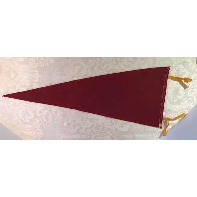 Fabric Vintage Odessa, TX Souvenir Pennant For Sale - Image 7 of 7