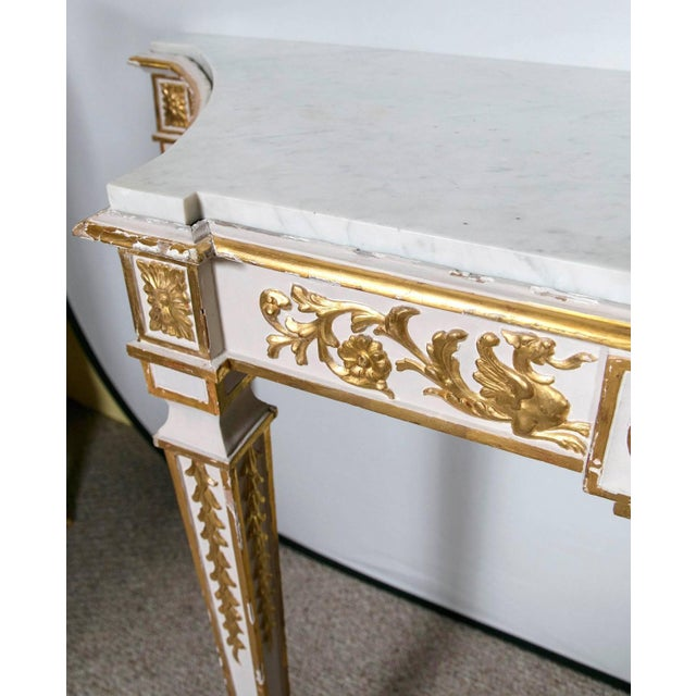 Italian Neoclassical Consoles - A Pair - Image 7 of 7