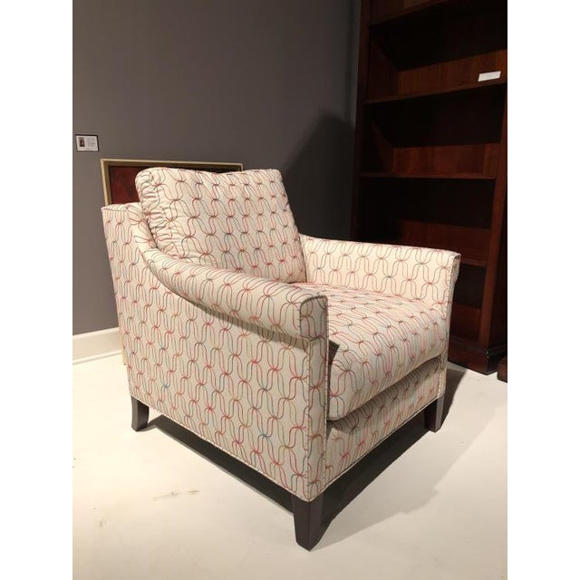 Transitional Century Furniture Tish Chair For Sale - Image 3 of 5