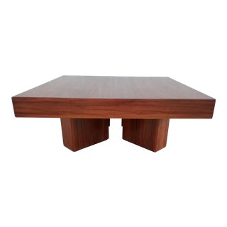 1950s Danish Modern Rosewood Cocktail Table For Sale