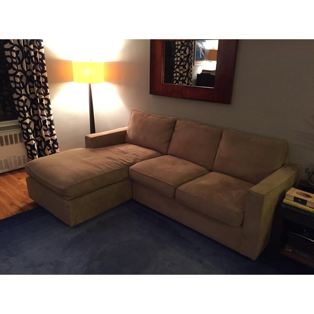 Room & Board York Sectional Sofa With Chaise Lounge - Image 9 of 11
