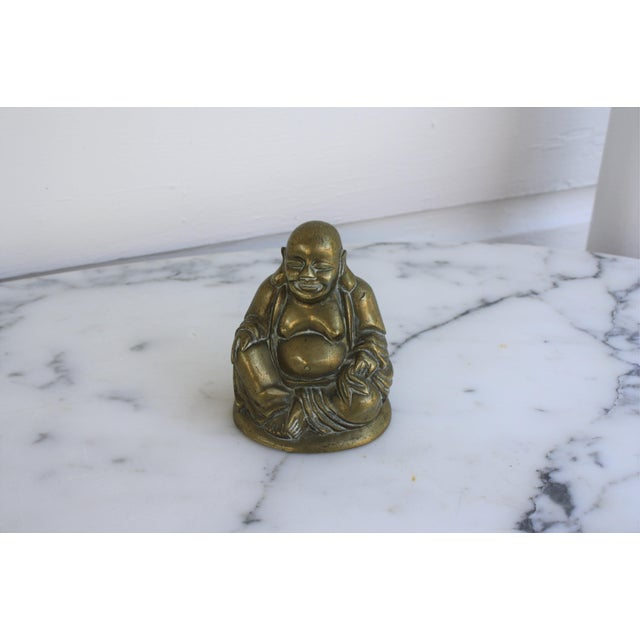 Vintage Brass Seated Buddha - Image 2 of 6