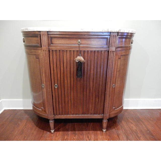 Louis XVI Buffet/Marble Top For Sale - Image 10 of 10