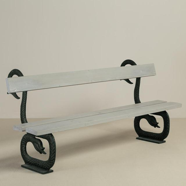 English 19th Century Patinated Cast Iron and Wooden Bench For Sale - Image 6 of 6