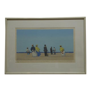"Framed and Matted Limited Edition Print"" Low Tide III"" by Frederick McDuff"