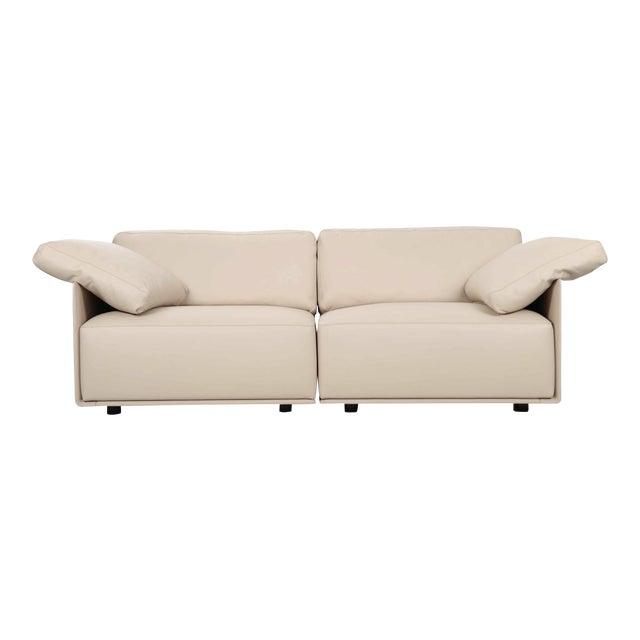 "Lievore Altherr Molina for Poltrona Frau ""Cassiopea"" Leather Sofa For Sale"