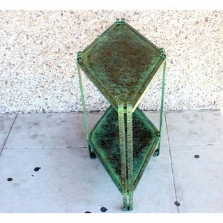 1930s French Deco Hammered Wrought Iron Table Preview