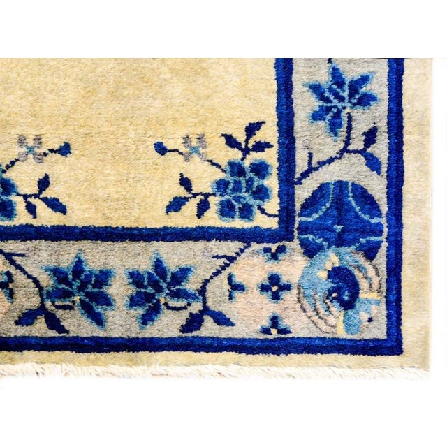 Early 20th Century Chinese Art Deco Rug - 2′ × 4′ - Image 3 of 5