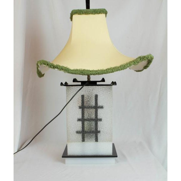 Moss Studios Siamese Dancer Moss Lamp For Sale - Image 4 of 8