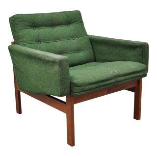 1960s Vintage Ole Gjerlov-Knudsen & Torben Lind Moduline France & Son Teak Lounge Arm Chair For Sale
