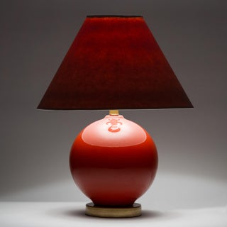Casa Cosima Sphere Table Lamp, Persimmon/Pink Shade Preview