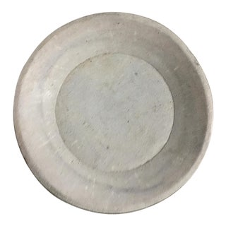 Late 19th Century Antique Indian Marble Dish For Sale