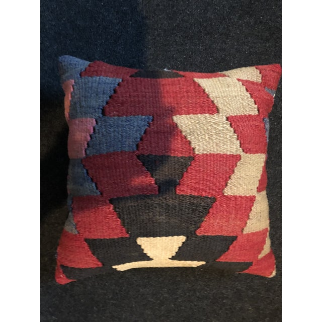 Late 20th Century Kilim Pillow For Sale - Image 4 of 4