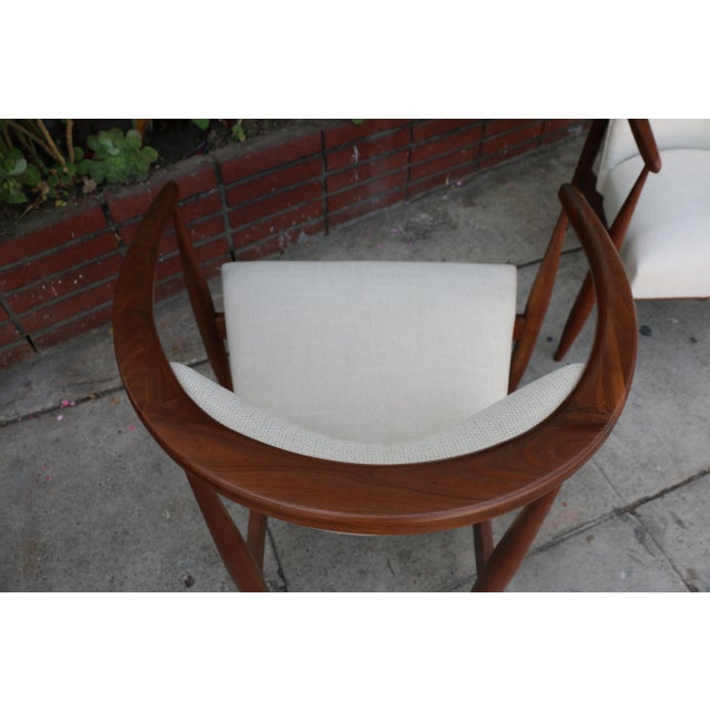 Kodawood Lounge Chairs - a Pair For Sale - Image 9 of 11
