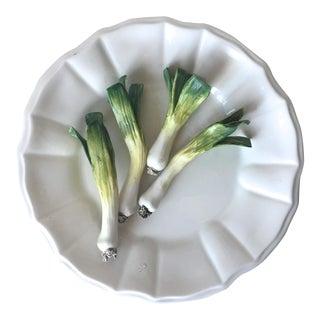 Tiffany Italian 'Tromp L'Oiel' Este Ceramiche Onion Plate