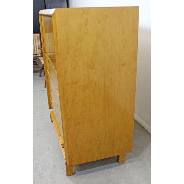 Mid 20th Century Mid-Century Modern Edmond Spence Tall Chest Dresser For Sale - Image 5 of 13
