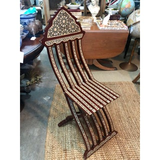 Inlaid Mother-Of-Pearl Chair Preview