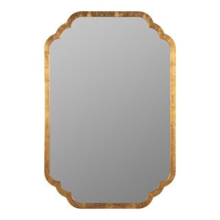 Suze Wall Mirror, Gold Leaf For Sale