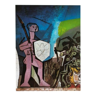 1971 Picasso War & Peace Parisian Photogravure
